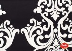 Damask Black Home Dec