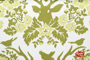 Antler Damask in Sage Home Dec