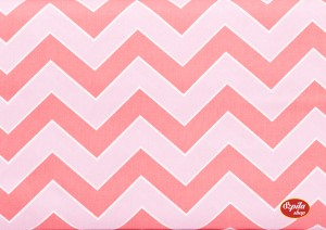 Chevron Haute Pink by Dena Designs